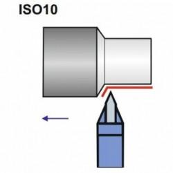 Nóż spiczasty ISO 10 NNPe DIN 4975 P20/S20