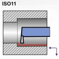 Nóż wytaczak hakowy ISO 11 NNWc-d DIN 263 P20/S20