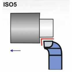 Nóż czołowy ISO 5 NNBk-m DIN 4977 P20/S20 R/L